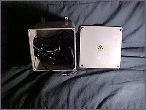 Electrical box camera. Can be mounted anywhere and is wireless